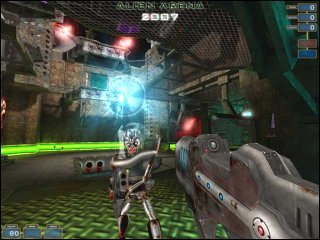 Games on Linux - Alien Arena