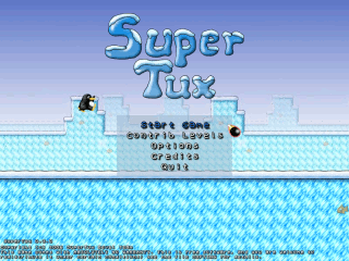 Games on Linux - SuperTux