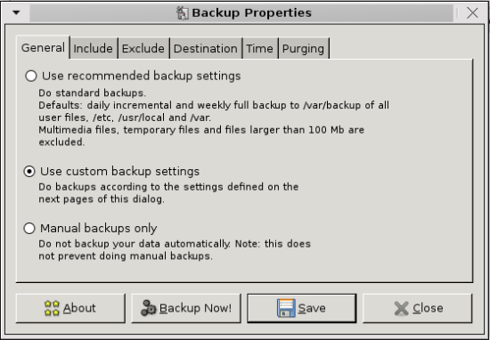 sBackup screenshot1