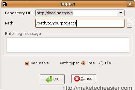 rapidsvn-import