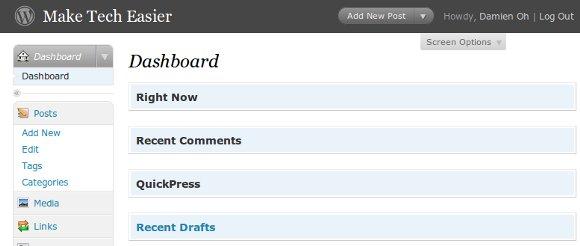 dashboard-screen-option