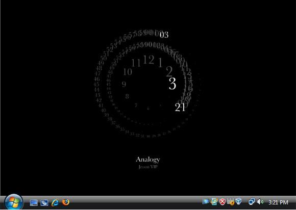 Analogy screensaver for Vista