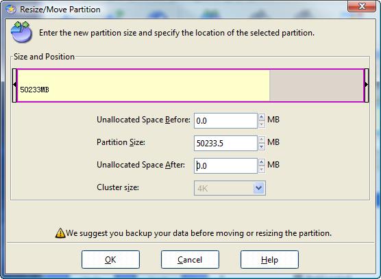 EaseUs Partition Manager