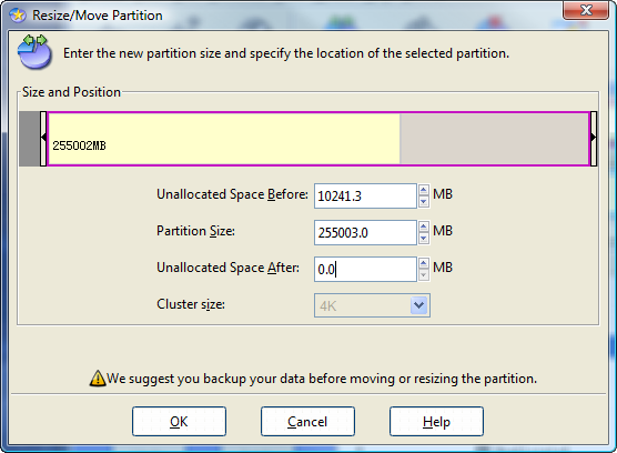 EaseUs Partition Manager