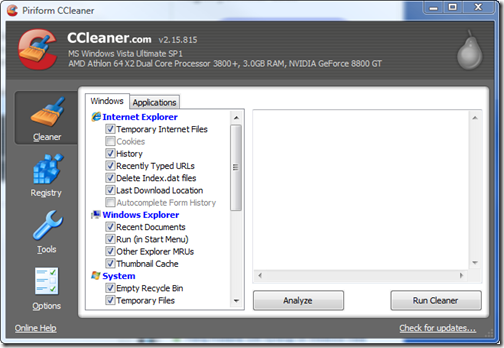 automate ccleaner