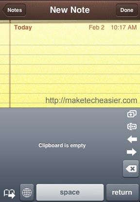 copy-paste-mode