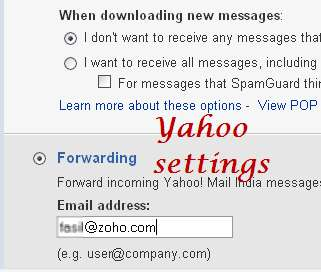 forwarding-mails-yahoo