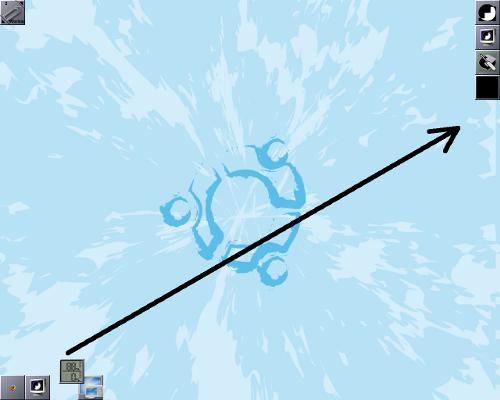 Dragging from taskbar to dock