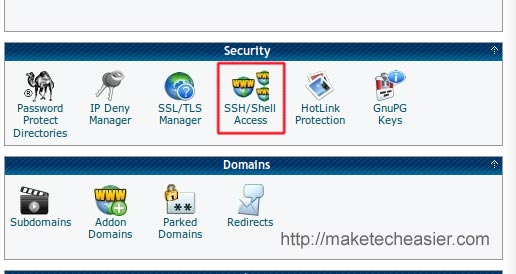 hostgator SSH access