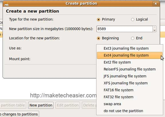 ext4-partition