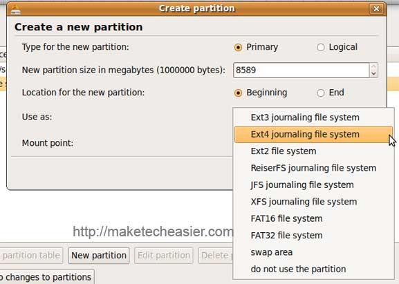 ext4-partition