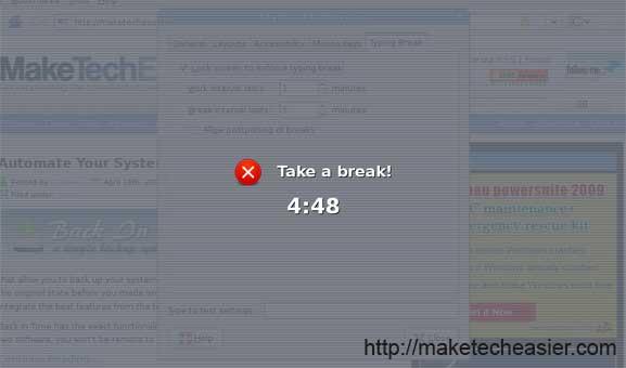 gnome-take-a-break