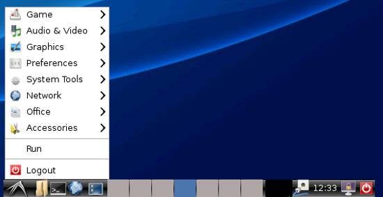 LXDE Panel