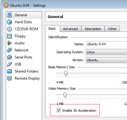 How To Enable 3D Acceleration In VirtualBox - Make Tech Easier