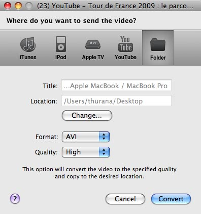 evom-send-the-video-to-folder