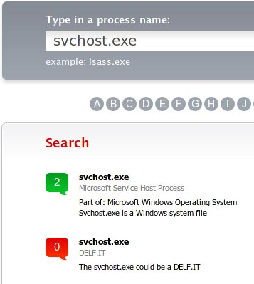 fileinspect search results