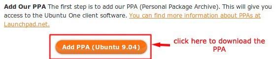 ubuntuone-ppa