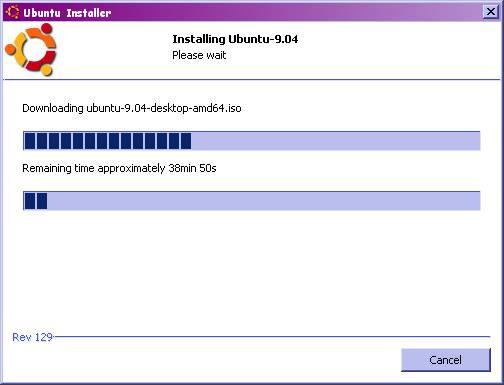 Downloading Ubuntu ISO