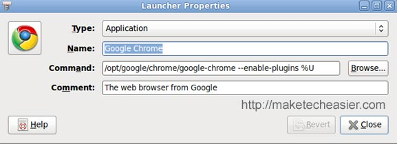 google chrome command line