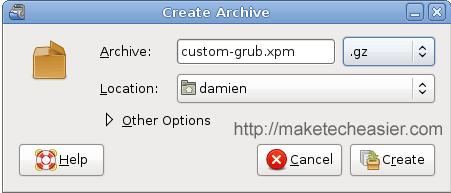 archive gz format