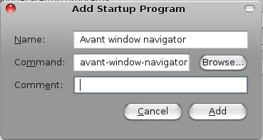 add AWN to startup