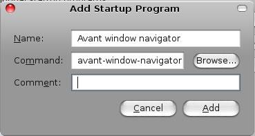 add AWN to startup