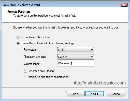 partition-format