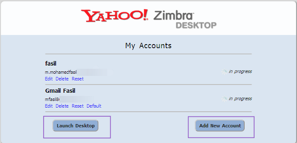Add multiple accounts