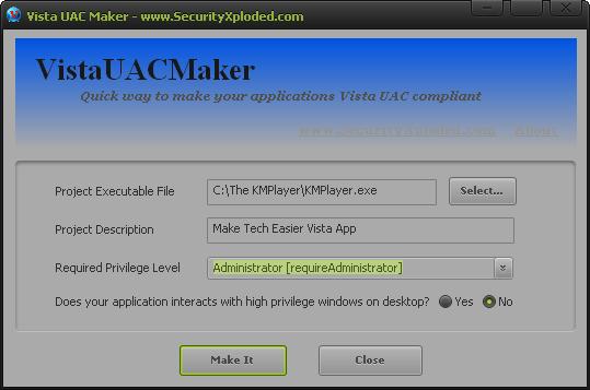 Vista-UAC-Maker-window