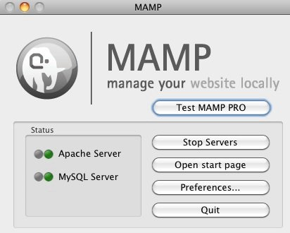 start MAMP