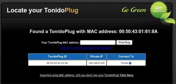 tonidoplug-setup