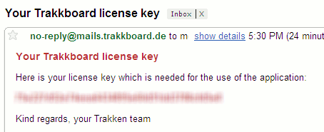 trakkboard-license-key