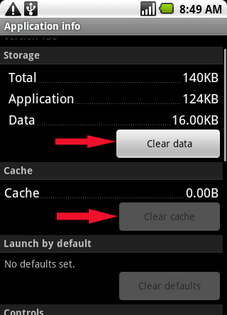 android-clear-data