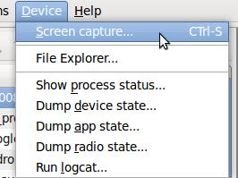 android-screenshot selection