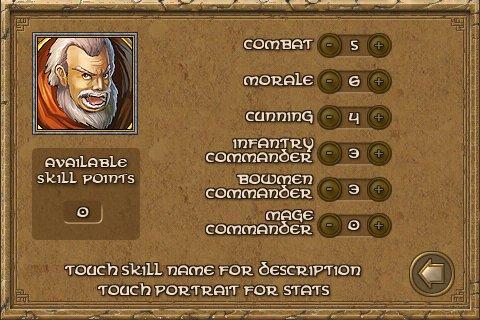 defender chronicles hero skill point