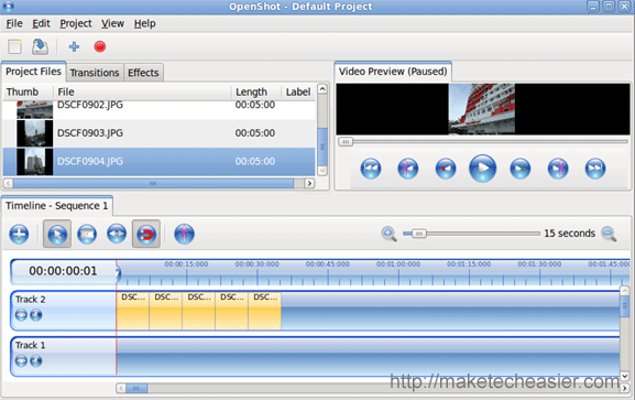 openshot-add-files-to-timeline