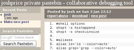pastebin-private