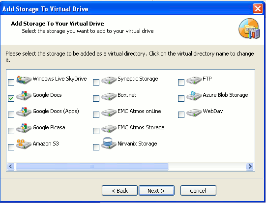 gladinet-virtual-drive-setting