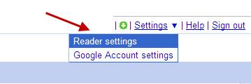 google-reader-click-reader-settings