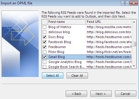 ms-outlook-import-selected-feeds