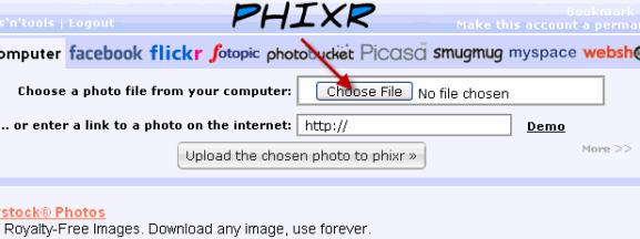 online-photoeditor-phixr