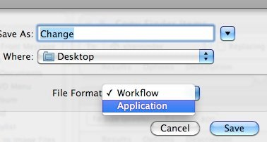 Automator - File type
