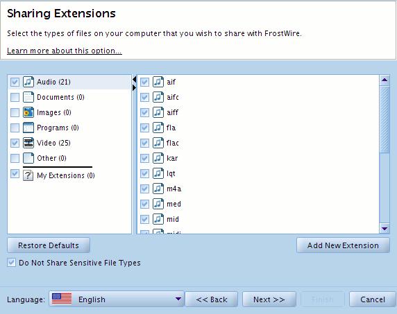 frostwire-filetypes