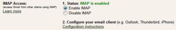 spicebird-gmail-imap-access