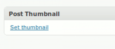 Snippet: Adding Post Thumbnail in WordPress 2.9