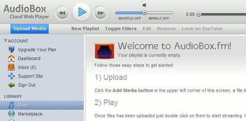 AudioBox - Cloud Web Player