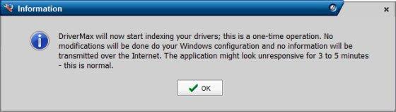 Driver max Installation wizard
