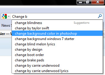 Firefox Awesome Bar Search Suggestions
