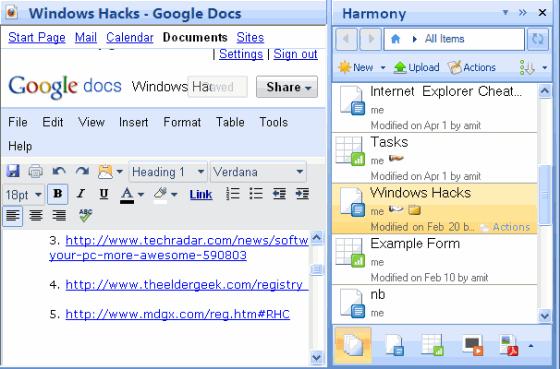 Edit Google Docs document