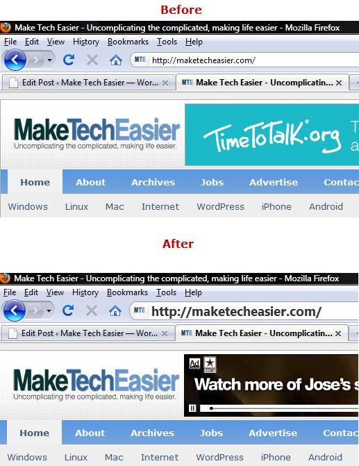Increase fintsize of Firefox address bar